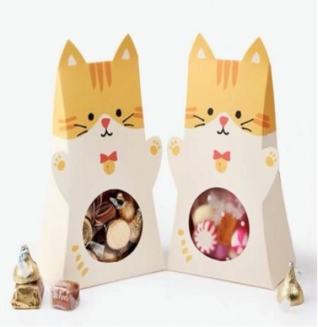 Orange Cat Box